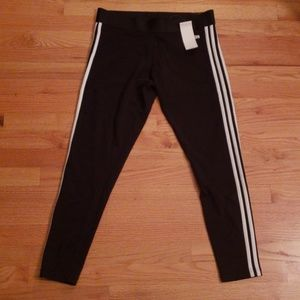 ❤NWT! ADIDAS FITTED LARGE LEGGINGS